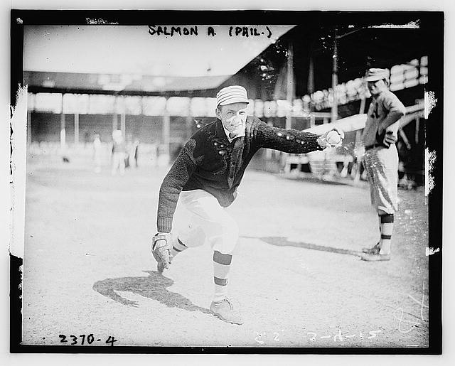 [Pitcher Roger E. Salmon, Philadelphia AL (baseball)]