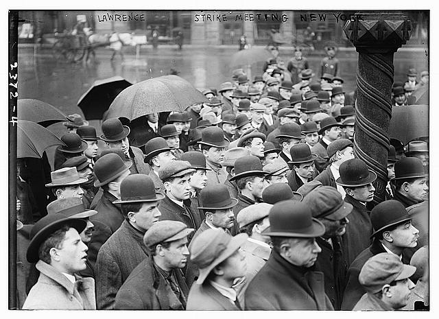 Lawrence strike meeting, New York