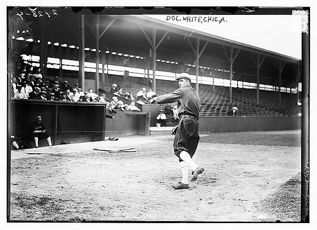 [Doc White, Chicago AL, at Hilltop Park, NY (baseball)]