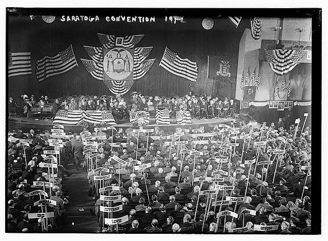 Saratoga, 1912 Convention