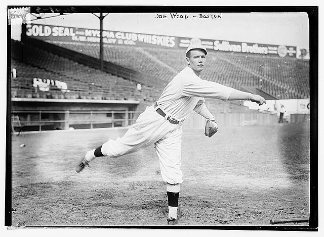 [Joe Wood, Boston AL at Fenway Park, Boston (baseball)]