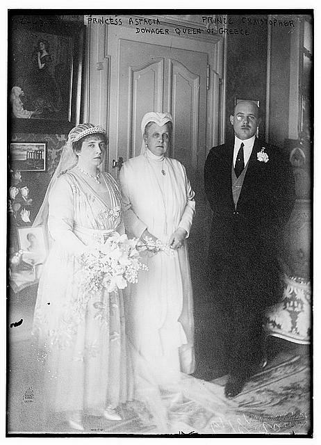 Princess Aspacia, Prince Christopher and Dowager Queen of Greece