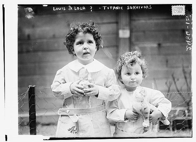 Louis & Lola ?-- TITANIC survivors