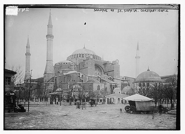Mosque of St. Sophia, Constantinople