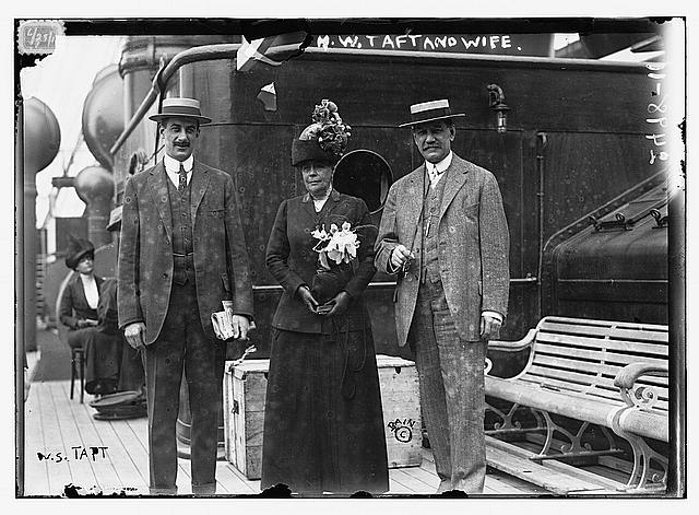 H.W. Taft and wife