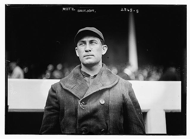 [Frank Metz, first baseman, Boston NL (baseball)]