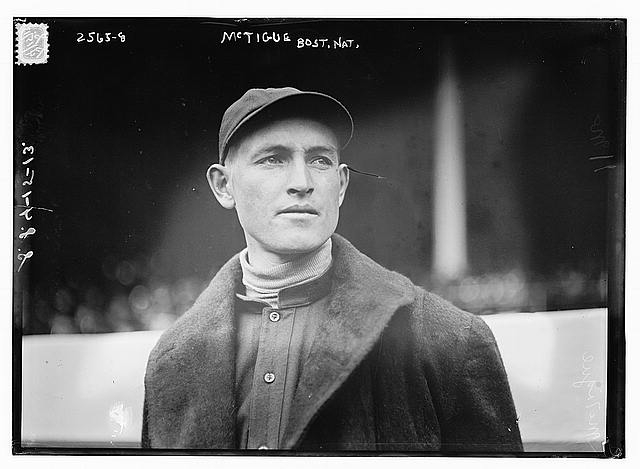 [Bill McTigue, Boston NL (baseball)]