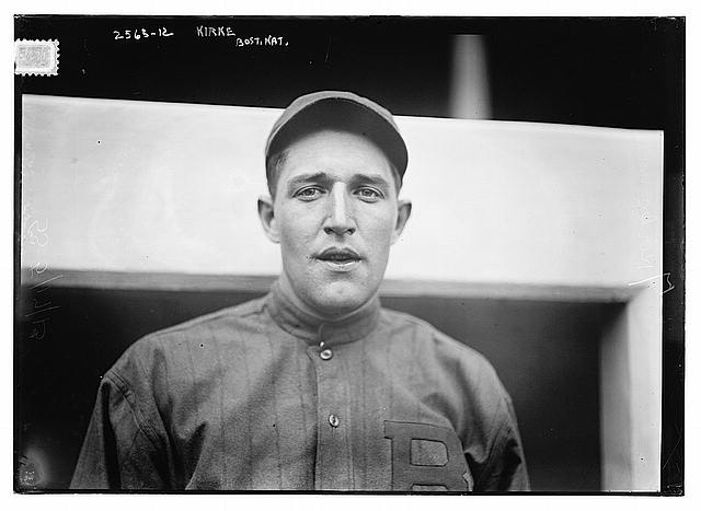 [Jay Kirke, Boston NL (baseball)]