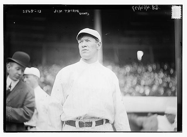 [Jim Thorpe, New York NL, at Polo Grounds, NY (baseball)]