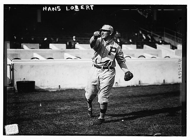 [Hans Lobert, Philadelphia NL, at Polo Grounds, NY (baseball)]
