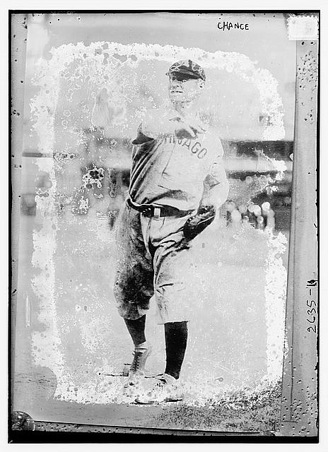 [Frank Chance, Chicago NL, at Polo Grounds, NY (baseball)]