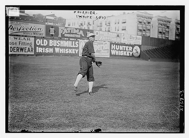[Jack Fournier, Chicago AL, at Hilltop Park, NY (baseball)]