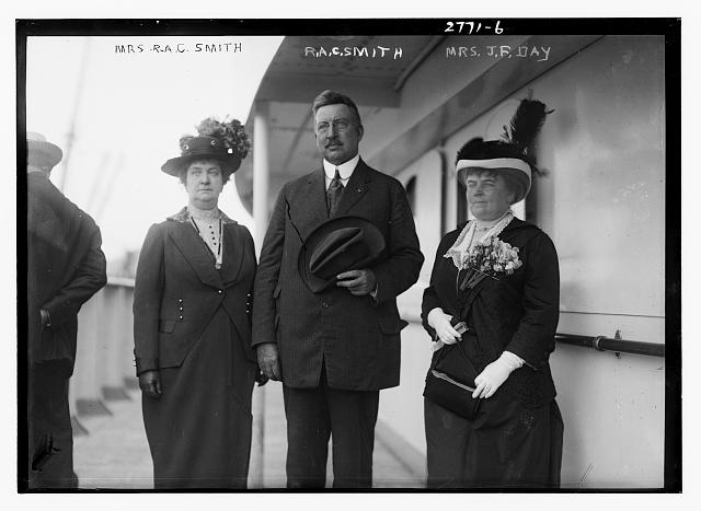 Mrs. R.A.C. Smith, Mr. R.A.C.Smith, and Mrs. J.F. Day