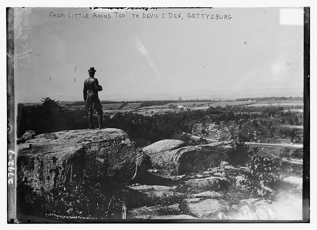 From Little Round Top to Devil's Den - Gettysburg