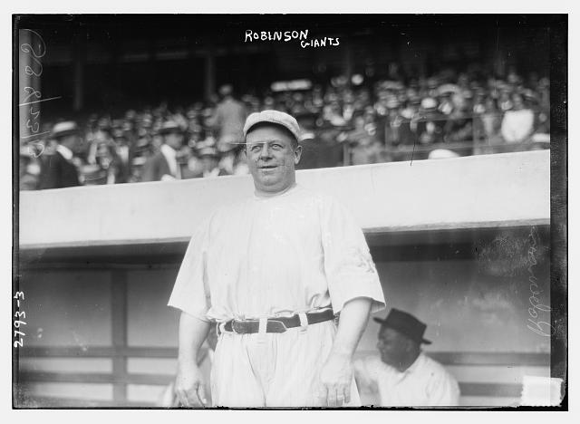 [Wilbert Robinson, coach, New York NL Giants (baseball)]