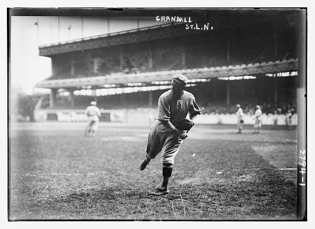 [Doc Crandall, St. Louis NL, at Polo Grounds, NY (baseball)]