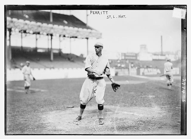 "[William ""Pol"" Perritt, St. Louis NL (baseball)]"