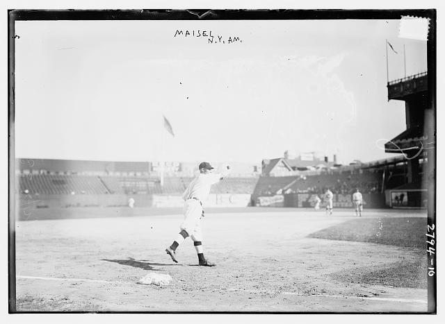 [Fritz Maisel, New York AL, at Polo Grounds, NY (baseball)]