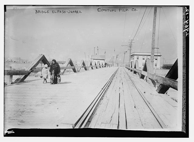 Bridge - El Paso to Juarez
