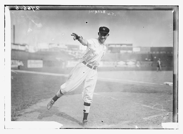 [Marty McHale, New York AL  (baseball)]