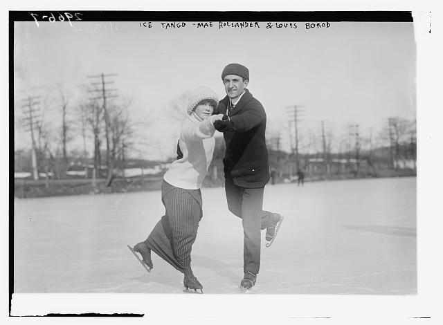 Ice Tango - Mae Hollander and Louis Borod