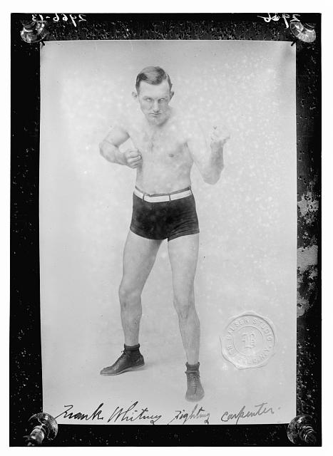 Frank Whitney, fighting carpenter