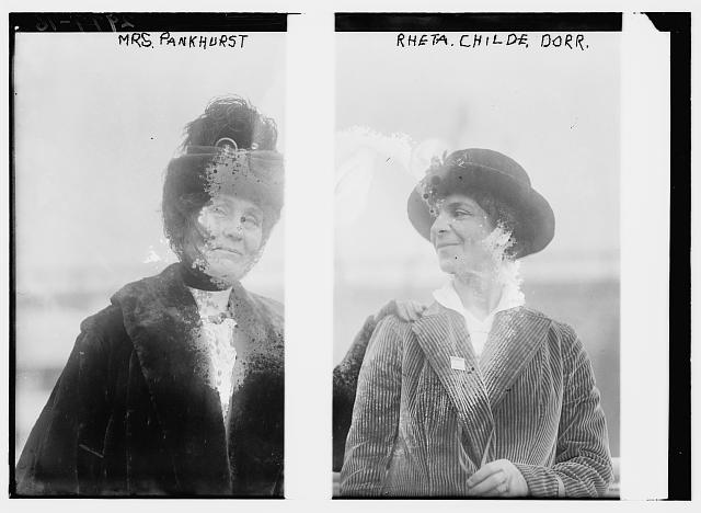 Mrs. Pankhurst and Rheta Childe Dorr