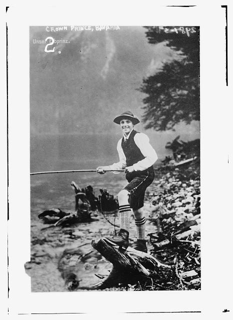 Crown Prince - Bavaria - fishing?