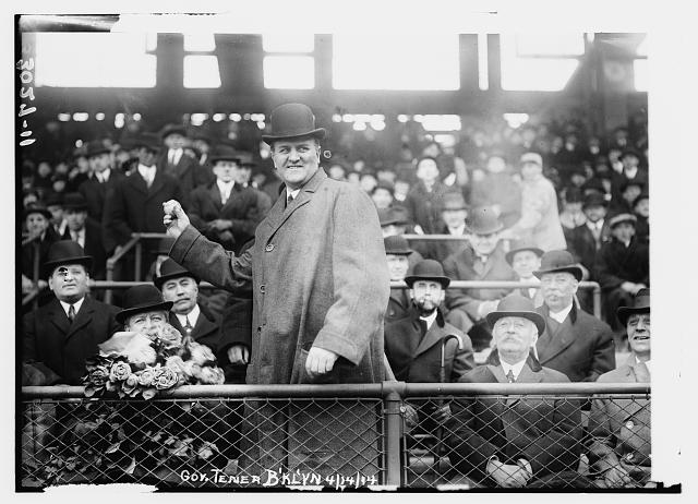 [Pennsylvania Governor John K. Tener at Ebbets Field (baseball)]