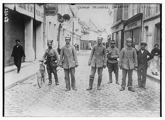 German prisoners -- Soissons