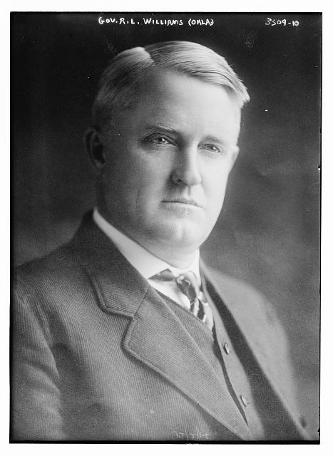 Gov. R.L. Williams (Okla)
