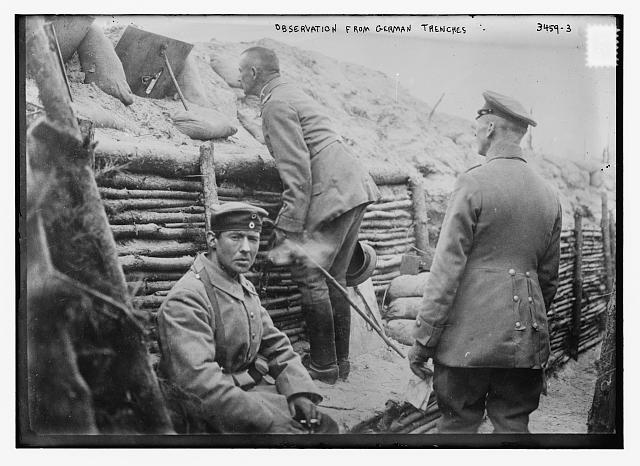 Observation from German Trenches