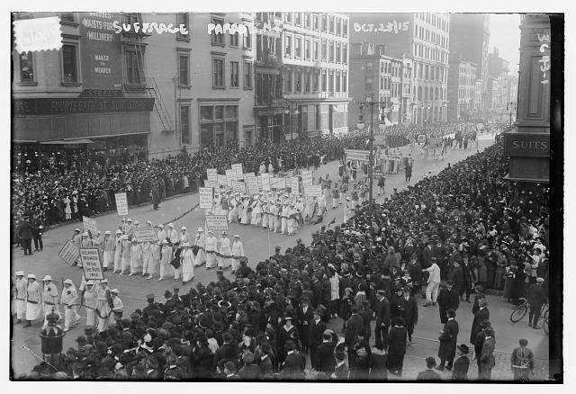 Suffrage Parade, N.Y., 10/15