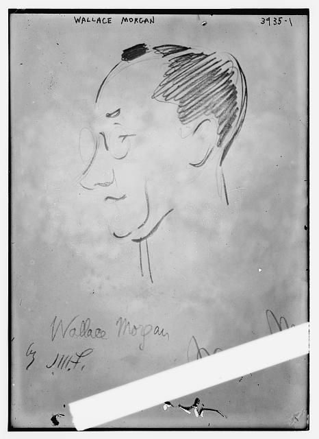 Wallace Morgan (caricature) by J.M. Flagg