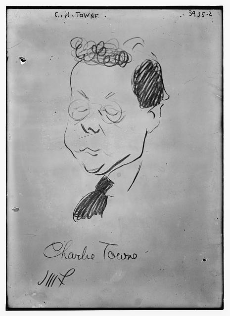 C.H. Towne (caricature) by J.M. Flagg