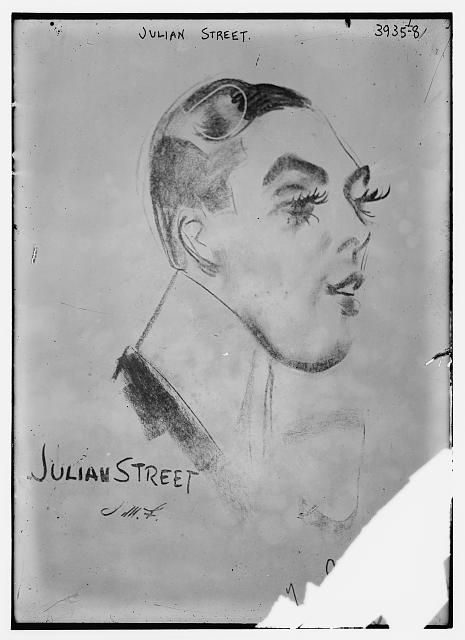 Julian Street (caricature) by J.M. Flagg