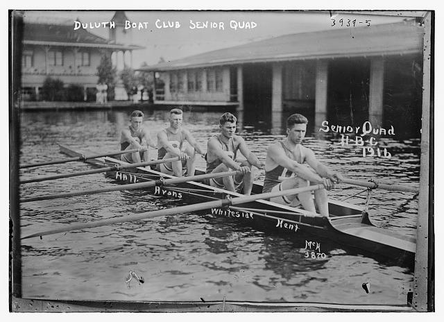 Duluth Boat Club Senior Quad