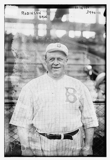 [Wilbert Robinson, manager, Brooklyn NL (baseball)]
