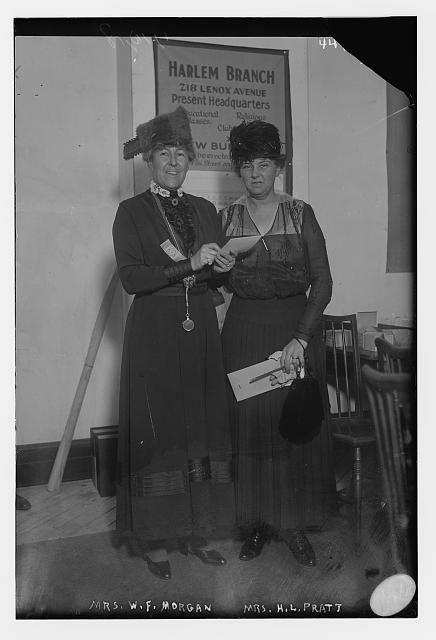 Mrs. W.F. Morgan & Mrs. H.L. Pratt