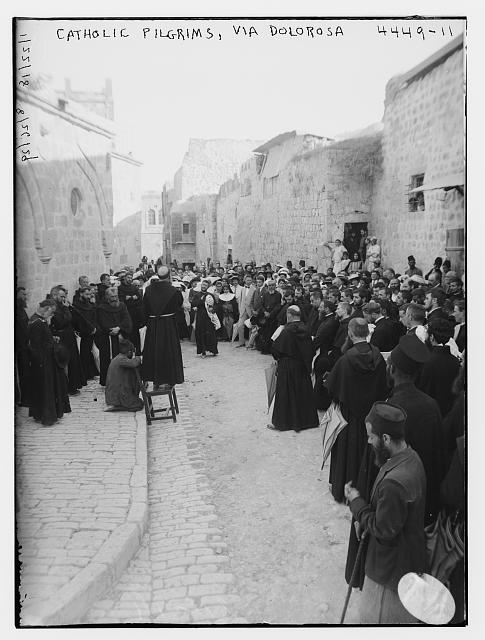 Catholic pilgrims, Via Dolorosa