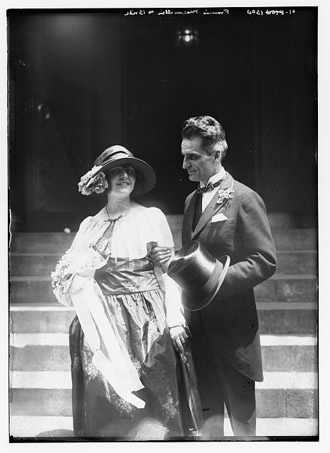 Francis MacMillan and bride