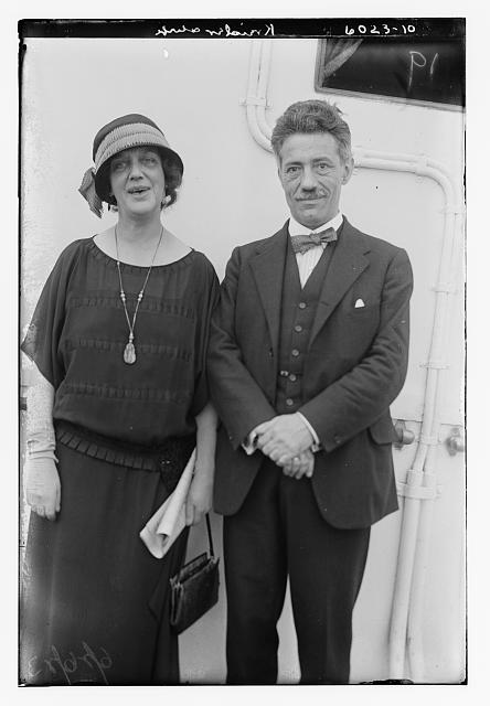 Kreisler and wife