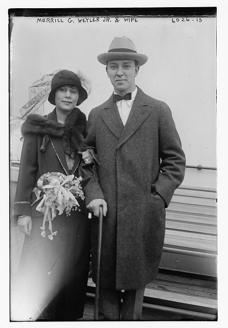 Merrill G. Weyler Jr. and wife
