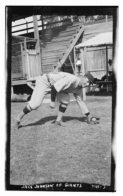 [Jack Johnson, prospect with New York NL (baseball)]