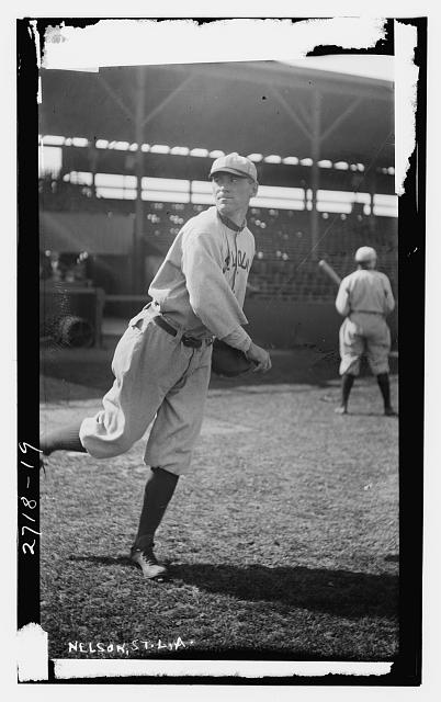 [Albert &quot;Red&quot; Nelson, St. Louis AL (baseball)]