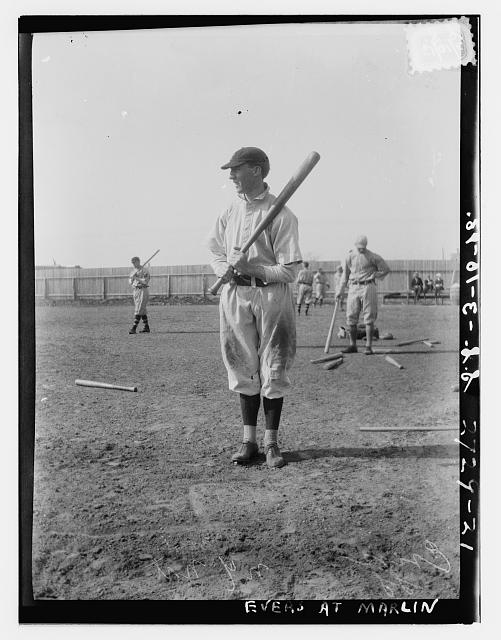 "[Joseph F. ""Joe"" Evers, New York NL (baseball)]"