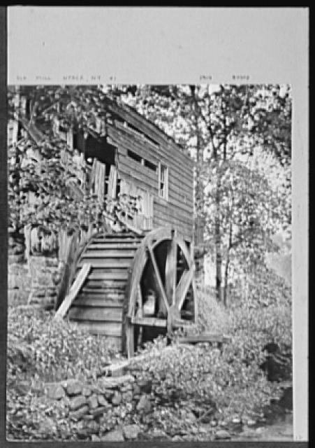 Seventy-one years, or, My life with photography. Old mill, Nyack, New York, no. 1