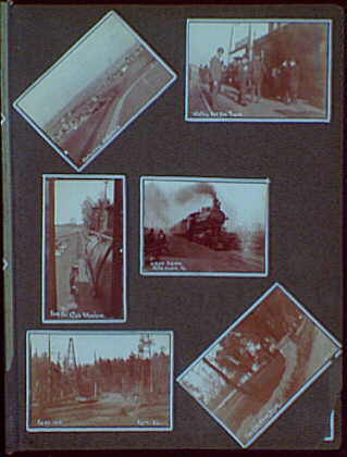 "Photos by a commercial ""wanderer"" through New York and Pennsylvania. Railroad scenes, oil well, historical site and Gettysburg"