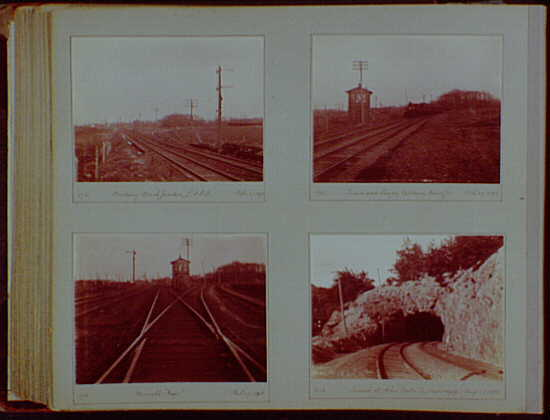Early years, snapshots, 1896-1898. Railroad scenes I