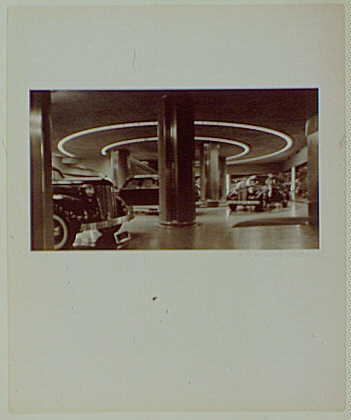 Master prints. Chrysler showroom, Chrysler Building, New York city